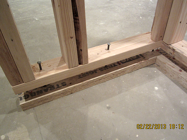 Why didn 39 t my soundproofing work avs forum home for How to build floating walls in basement